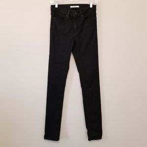 Levi's Slimming Skinny Jean Size 27 Blackened Ash